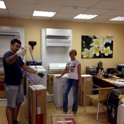 Лучшие кондиционеры Красноярска ждут Вас на нашем складе!
