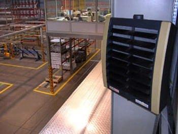 Водяной тепловентилятор Вулкано экономичный обогреватель