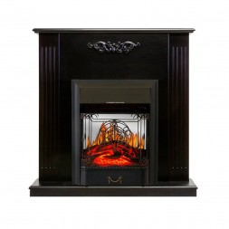 Каминокомплект Royal Flame Lumsden - Венге с очагом Majestic FX M Black